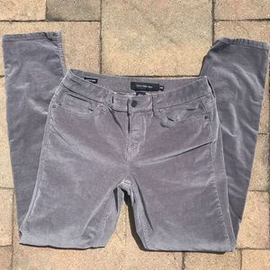 "Calvin Klein corduroy ""ultimate skinny"" jeans"